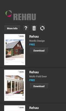 REHAU Windows apk screenshot