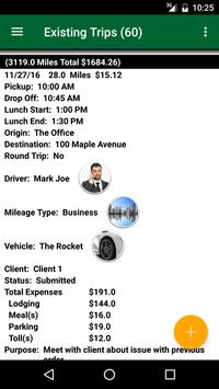 Track My Mileage poster