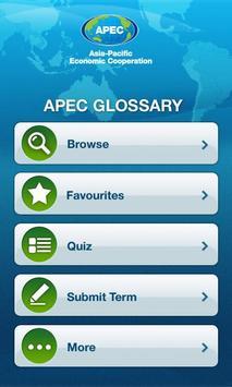 APEC Glossary apk screenshot