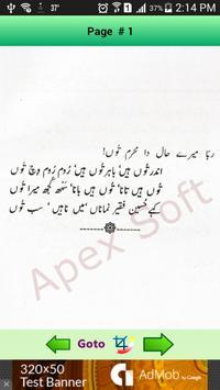 Shah Hussain R.A Punjabi Kalam apk screenshot