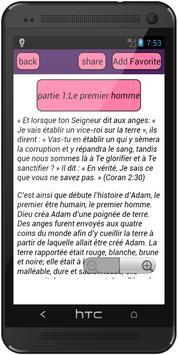 Histoires Prophètes (Français) apk screenshot