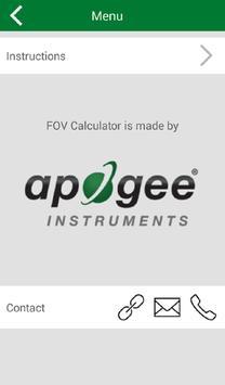 Field of View Calculator apk screenshot