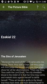 The Picture Bible apk screenshot