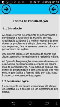 Lógica de Programação apk screenshot