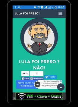 LULA FOI PRESO ? apk screenshot