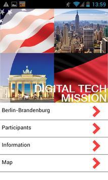 Berlin - New York Digital Tech poster