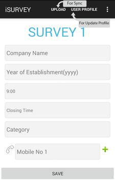 ISurvey apk screenshot
