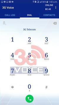 3GVoice Tp Smart Mobile Dailer apk screenshot