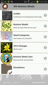 Washington Noxious Weeds 2014 apk screenshot