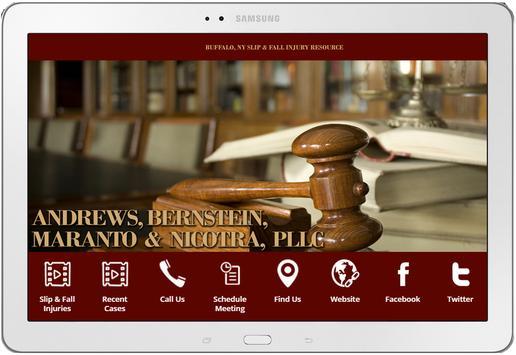 WNY Injury Lawyers Slip & Fall apk screenshot