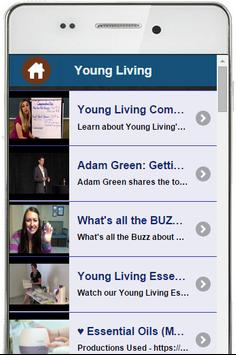 Young Living MLM Training App poster
