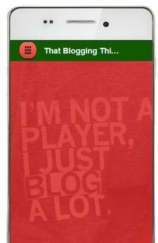 Free Blogging App for SEO Rank poster