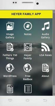 Heyer Family App poster