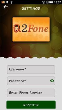 A2FONE apk screenshot