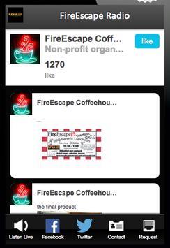 FireEscape Radio poster