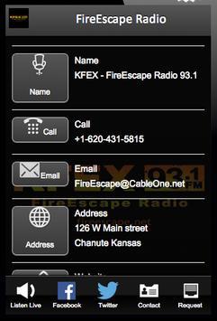 FireEscape Radio apk screenshot