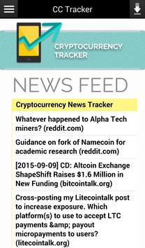 CryptoCurrency Tracker apk screenshot