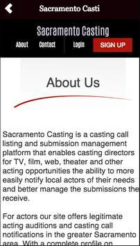 Sacramento Casting apk screenshot