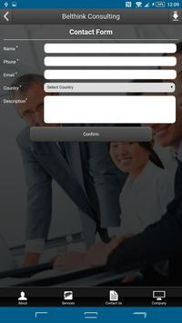 BELTHINK BUSINESS CONSULTING apk screenshot