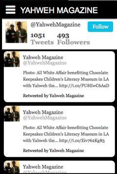 YAHWEH MAGAZINE apk screenshot