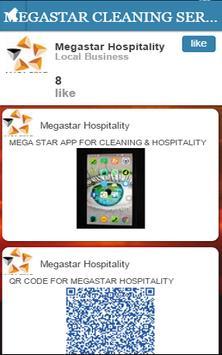 MEGASTAR CLEANING SERVICES apk screenshot
