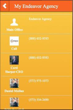 My Endeavor Agency apk screenshot