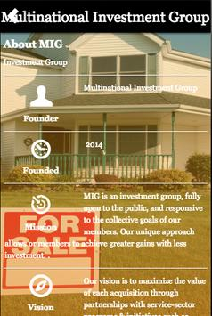 Multinational Investment Group poster