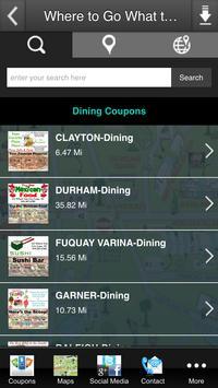 Where to Go What to Do Coupons apk screenshot