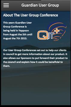 Guardian User Group apk screenshot