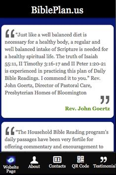 BiblePlan.us apk screenshot