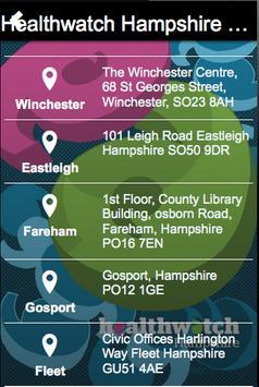 Healthwatch Hampshire Speak Up apk screenshot