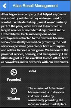 Atlas Resell Management apk screenshot