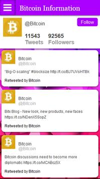 Bitcoin Information and News poster