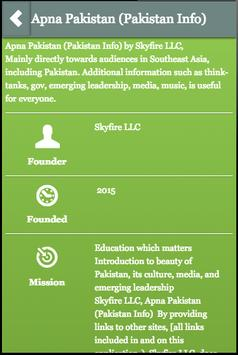 Apna Pakistan (Pakistan Info) poster
