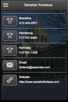 Senator Fontana apk screenshot