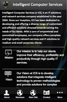 Intelligent Computer Services poster
