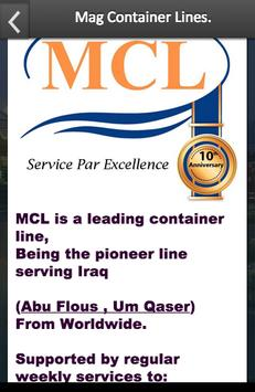 Mag Container Lines L.L.C apk screenshot