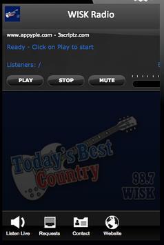WISK Radio poster