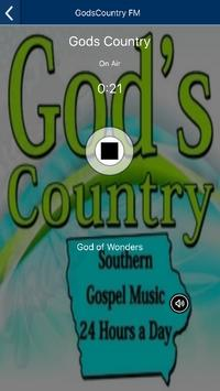God's Country FM poster