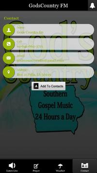 God's Country FM apk screenshot
