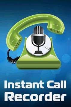 Instant Call Recorder poster
