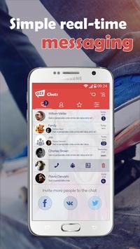 ChatOZZ messenger for chats apk screenshot