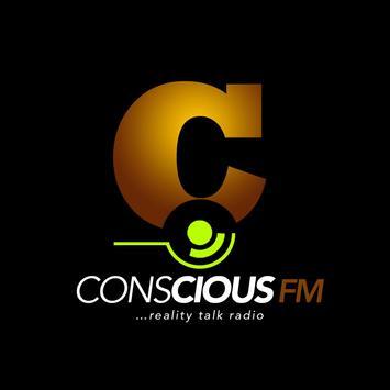 CONSCIOUS FM poster