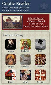 Coptic Reader poster