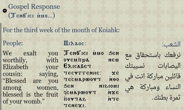 Coptic Reader apk screenshot