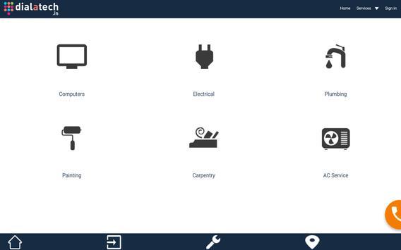 DialATech - Handyman Services apk screenshot