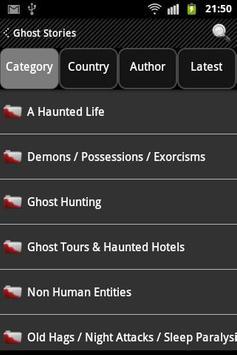 Ghost Stories 1000+ apk screenshot