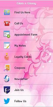 Glam n Glossy Beauty Salon apk screenshot