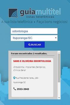 Guia Multitel Lista Telefônica apk screenshot