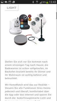 HomeWatch Smart Home apk screenshot